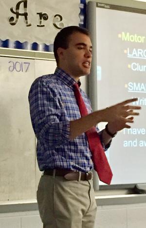 autism in the classroom, David Petrovic